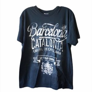 Fox Originals Swirl Barcelona Graphic T Shirt M